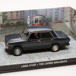 Lada 2105 - The Living Daylights - James Bond - 1/43ème en boite