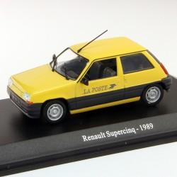 Renault Supercinq 1989 - La Poste - 1/43 En boite