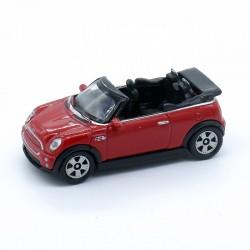Mini Cooper Cabrio - Welly - 1/87ème En boite