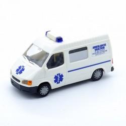 Ford Transit Ambulance - Rietze - 1/87ème En boite