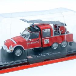 Citroen 2cv L'Acadiane Feuer-Ente - 1/43ème Sous blister