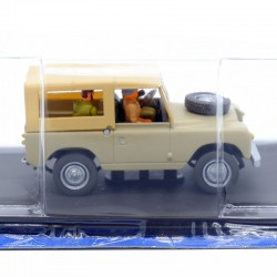 Blake & Mortimer - Land Rover - Le Sanctuaire de Gondwana - 1/43ème sous blister