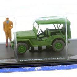 Blacke & Mortimer - Jeep Militaire - Le Sanctuaire de Gondwana - 1/43ème sous blister