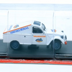 "Citroen 2cv Pick-Up "" Assistance Raids Africains "" - 1/43ème Sous blister"