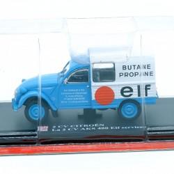 """Citroen 2cv AKS 400 """" Elf Services """" - 1/43ème Sous blister"""