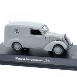 Simca 8 fourgonnette 1947 - La Poste - 1/43ème en boite