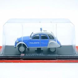 Citroen 2cv Police Allemande - 1/43ème Sous blister
