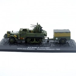 Véhicule anti aérien M16 MGMC - Ardennes 1945 - 1/72ème en boite