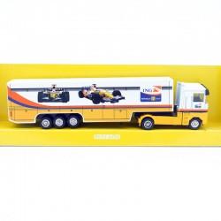 Semi Remorque Team Renault - NewRay - 1/87ème En boite