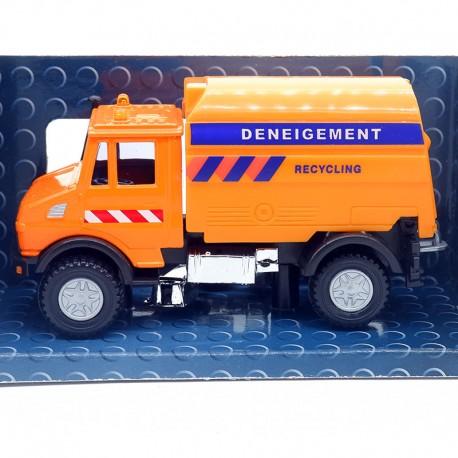 Camion Mercedes Deneigement - Cararama - 1/43ème en boite