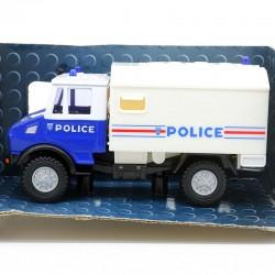 Camion de Police Mercedes - Cararama - 1/43ème En boite