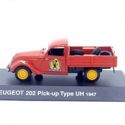 Peugeot 202 Pick-Up Type UH 1947 - 1/43ème en boite