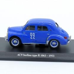 Renault 4 Cv Berline Type R 1063 de 1953 - Eligor - 1/43ème sous blister