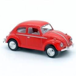 Volkswagen Coccinelle rouge - Kinsmart - 1/64ème Sans boite