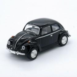 Volkswagen Coccinelle Noire - Kinsmart - 1/64ème Sans boite