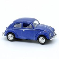 Volkswagen Coccinelle Bleu - Kinsmart - 1/64ème Sans boite