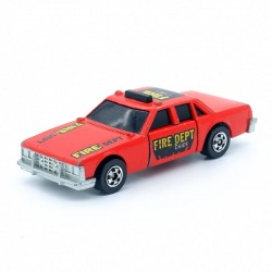 Fire Dept Chief - Hot Wheels Crack Ups - 3 Inches En boite