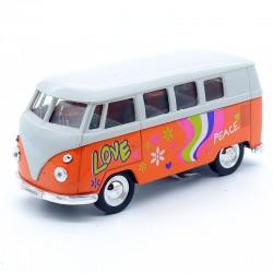 Volkswagen Combi T1 Bus - Orange - Welly - 1/34-1/39 ème