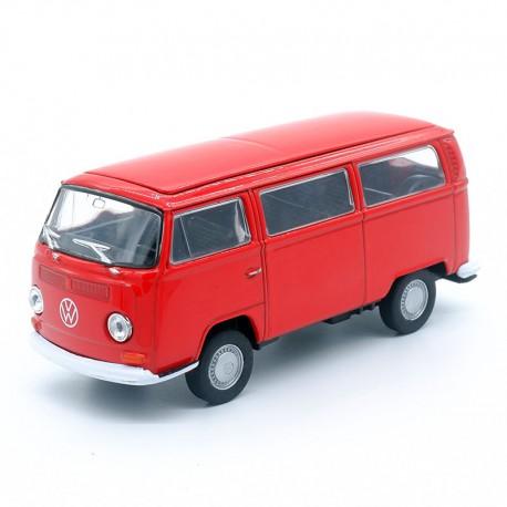 Volkswagen Combi T2 Bus - Welly - 1/34-1/39ème Sans boite
