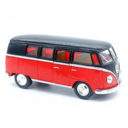 "Volkswagen Combi T1 Bus Motif "" Peace and Love "" - Welly - 1/34-1/39 ème"