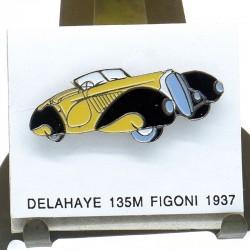 Pin's Delahaye 135M Figoni 1937