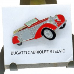 Pin's Bugatti Cabriolet Stelvio