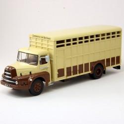 Unic ZU66 Transport Animaux - Ixo - 1/43ème en boite