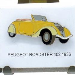 Pin's Peugeot Roadster 402