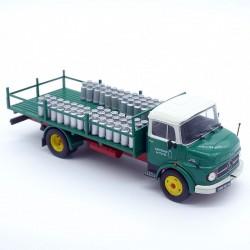 """Mercedes camion plateau """"Transport de Lait"""" - Ixo - 1/43ème en boite"""