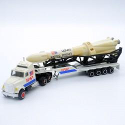 """Camion Nasa """"Transport de Fusée"""" - Majorette - 1/87ème en boite"""