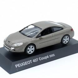 Peugeot 407 Coupé 2005 - Norev - 1/43ème sous blister