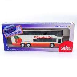 "Bus long Courrier Mercedes "" Globetrotter "" -  Siku - 1/55ème En boite"