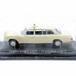Mercedes 240D - Taxi Frankfurt 1972 - 1/43ème Sous blister