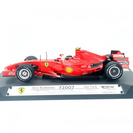 Ferrari Formule 1  - Hot Wheels - Grand Prix Australie 2007 - 1/18ème en boite