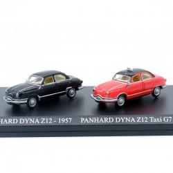 Duo de Panhard Dyna Z12 - 1/87ème En boite