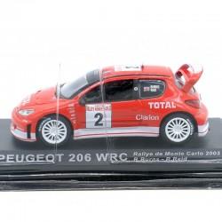 Peugeot 206 WRC - Rallye de Monte Carlo 2003 - 1/43ème Sous blister