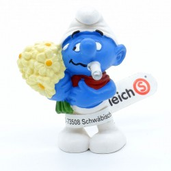 Figurine Schtroumpf Malade - Schleich - Germany Peyo