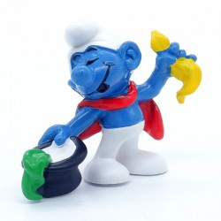 Figurine Schtroumpf Magicien - Schleich - Germany Peyo