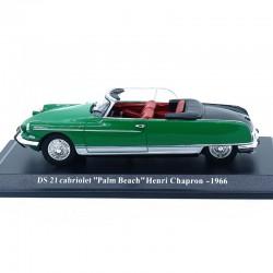 """Citroen DS 21 Cabriolet 1966 """"Henri Chapron"""" - 1/43ème sous blister"""
