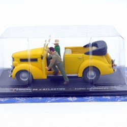 Blake & Mortimer Ford Cabriolet - L'enigme de L'Atlantide - 1/43ème sous blister