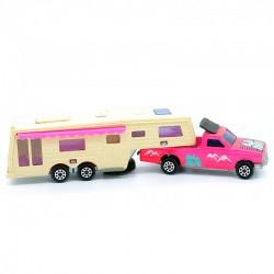 Pick-Up 4x4 - Camping Car DeLuxe - Majorette - 1/60ème sans boite