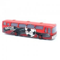 """Bus """"Soccer Team"""" - Majorette - 1/87ème sans boite"""