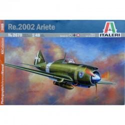 Avion Re.2002 Ariete Italien seconde guerre mondiale - 1/48ème en boite