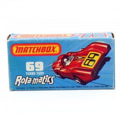 "Boite Vide ""69 Turbo Fury"" Ralo-matics - Matchbox"