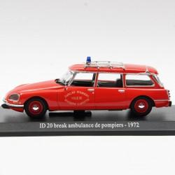 ID 20 Break ambulance de pompiers 1972 - au 1/43 en boite