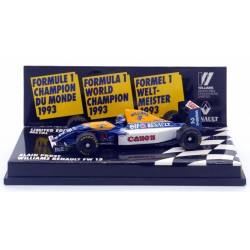 Williams Renault FW 15 - Minichamps - 1/64ème En boite