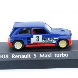 Renault 5 Maxi Turbo - Solido - 1/43ème En boite