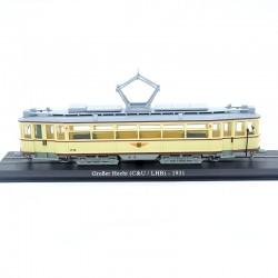Tramway Grober Hecht ( C&U / LHB ) - 1/87ème En boite