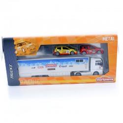 Coffret Trucks Racing - Majorette - 1/57ème En boite