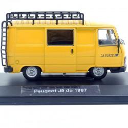 Peugeot J9 de 1987 - La Poste - Norev - 1/43ème